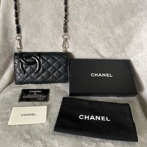 Authentic Chanel Cambon Wallet on Chain